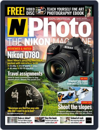 N-photo: The Nikon April 1st, 2020 Digital Back Issue Cover