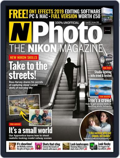 N-photo: The Nikon October 1st, 2019 Digital Back Issue Cover
