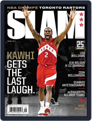 Slam September 1st, 2019 Digital Back Issue Cover