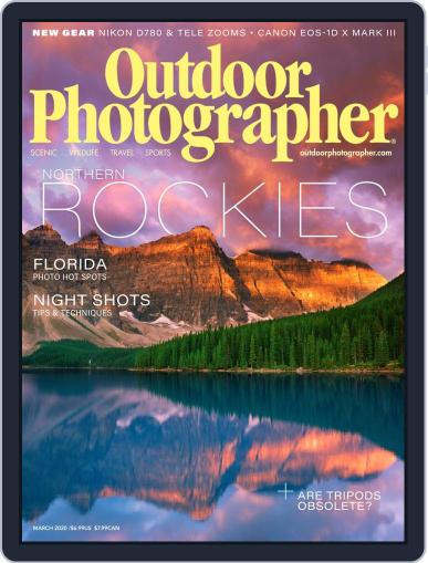 Outdoor Photographer (Digital) March 1st, 2020 Issue Cover