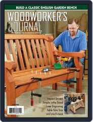 Woodworker's Journal (Digital) Subscription June 1st, 2020 Issue