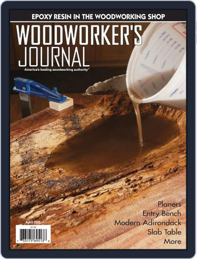 Woodworker's Journal (Digital) April 1st, 2020 Issue Cover