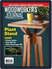 Woodworker's Journal (Digital) Subscription December 1st, 2019 Issue