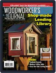 Woodworker's Journal (Digital) Subscription August 1st, 2019 Issue
