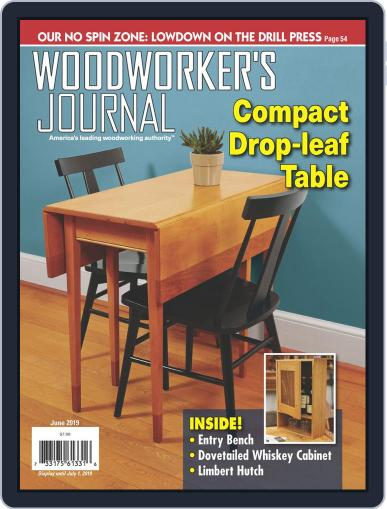 Woodworker's Journal (Digital) June 1st, 2019 Issue Cover