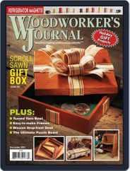 Woodworker's Journal (Digital) Subscription November 1st, 2013 Issue