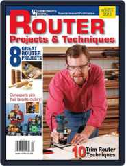 Woodworker's Journal (Digital) Subscription January 1st, 2013 Issue