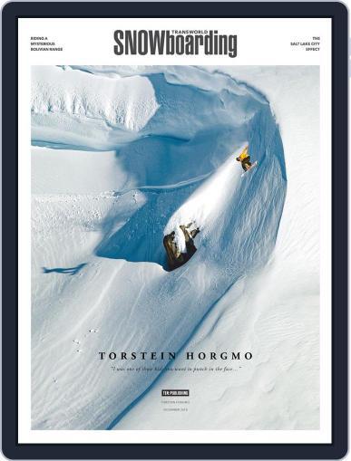 Transworld Snowboarding (Digital) November 1st, 2018 Issue Cover