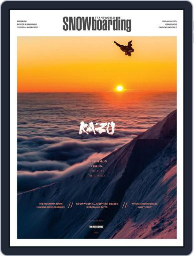 Transworld Snowboarding (Digital) October 1st, 2018 Issue Cover