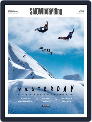 Transworld Snowboarding (Digital) September 1st, 2018 Issue Cover