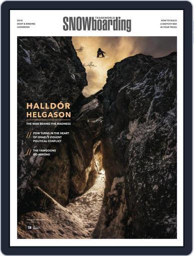 Transworld Snowboarding (Digital) October 1st, 2017 Issue Cover