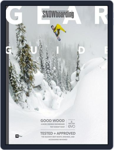 Transworld Snowboarding (Digital) August 31st, 2017 Issue Cover