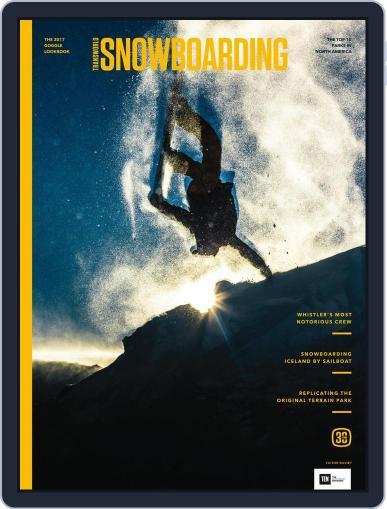 Transworld Snowboarding (Digital) November 1st, 2016 Issue Cover