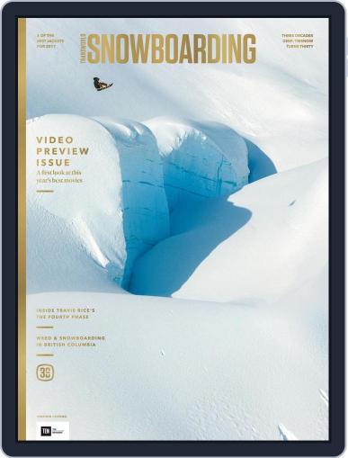 Transworld Snowboarding (Digital) October 1st, 2016 Issue Cover