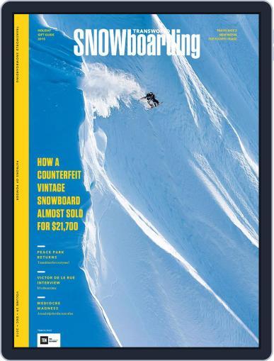 Transworld Snowboarding (Digital) December 11th, 2015 Issue Cover