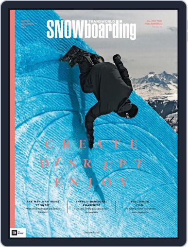 Transworld Snowboarding (Digital) November 1st, 2015 Issue Cover