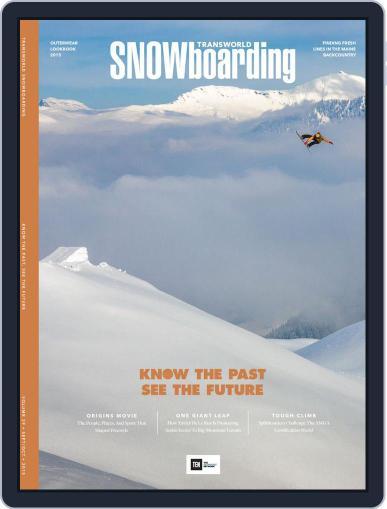Transworld Snowboarding (Digital) September 1st, 2015 Issue Cover