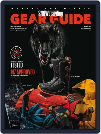 Transworld Snowboarding (Digital) August 1st, 2015 Issue Cover