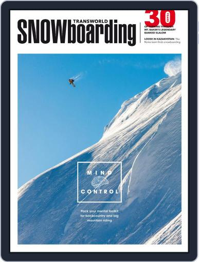 Transworld Snowboarding (Digital) January 16th, 2015 Issue Cover
