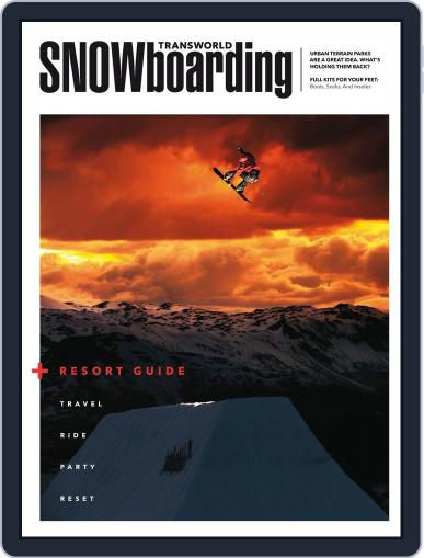 Transworld Snowboarding (Digital) October 10th, 2014 Issue Cover