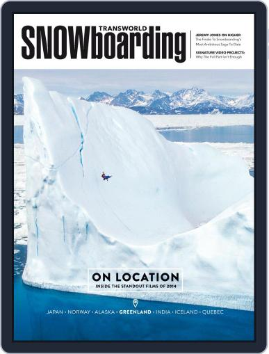 Transworld Snowboarding (Digital) August 20th, 2014 Issue Cover