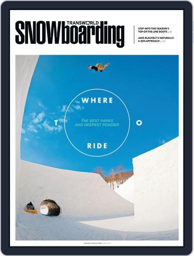 Transworld Snowboarding (Digital) October 15th, 2013 Issue Cover