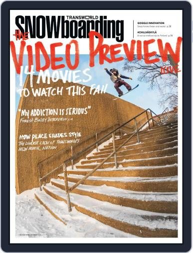 Transworld Snowboarding (Digital) August 24th, 2013 Issue Cover