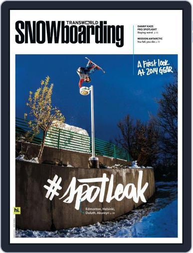 Transworld Snowboarding (Digital) February 1st, 2013 Issue Cover