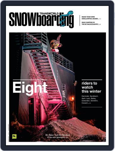 Transworld Snowboarding (Digital) November 17th, 2012 Issue Cover