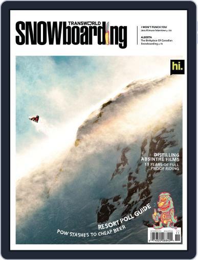 Transworld Snowboarding (Digital) September 22nd, 2012 Issue Cover