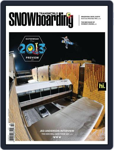 Transworld Snowboarding (Digital) August 25th, 2012 Issue Cover