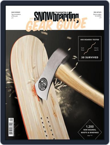 Transworld Snowboarding (Digital) August 11th, 2012 Issue Cover