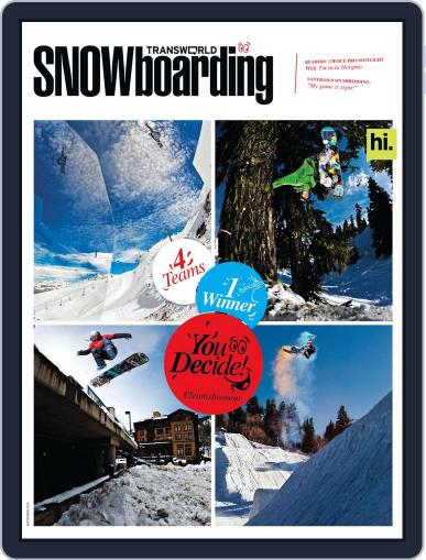 Transworld Snowboarding (Digital) July 21st, 2012 Issue Cover