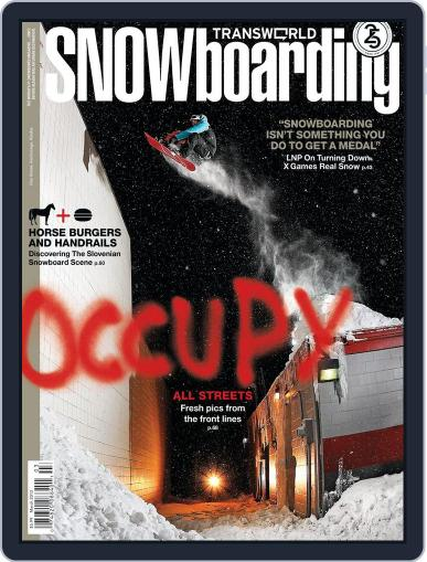 Transworld Snowboarding (Digital) January 28th, 2012 Issue Cover