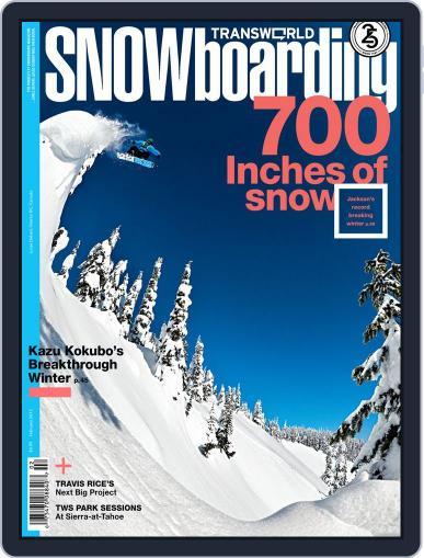Transworld Snowboarding (Digital) December 29th, 2011 Issue Cover