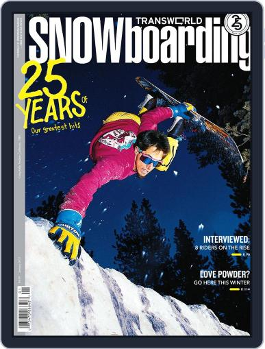 Transworld Snowboarding (Digital) November 19th, 2011 Issue Cover