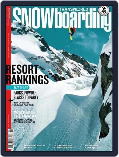 Transworld Snowboarding (Digital) September 24th, 2011 Issue Cover