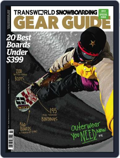 Transworld Snowboarding (Digital) August 19th, 2011 Issue Cover