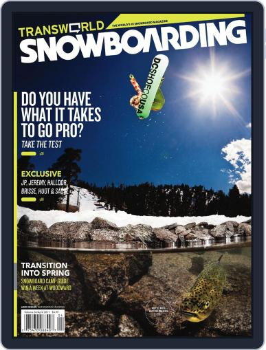 Transworld Snowboarding (Digital) February 26th, 2011 Issue Cover