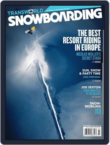 Transworld Snowboarding (Digital) January 29th, 2011 Issue Cover
