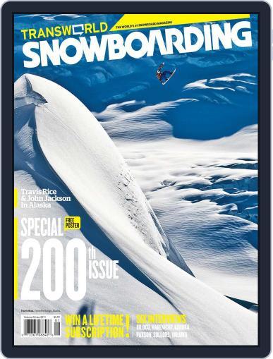 Transworld Snowboarding (Digital) November 20th, 2010 Issue Cover