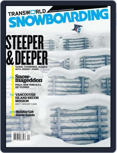 Transworld Snowboarding (Digital) October 23rd, 2010 Issue Cover