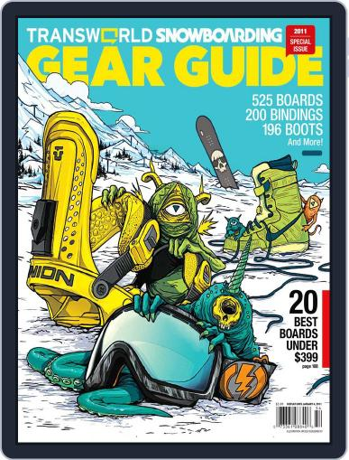 Transworld Snowboarding (Digital) August 14th, 2010 Issue Cover