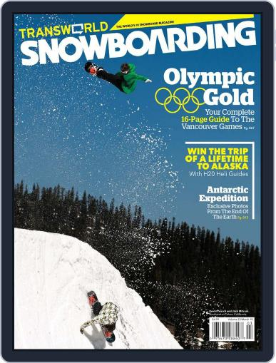 Transworld Snowboarding (Digital) January 23rd, 2010 Issue Cover