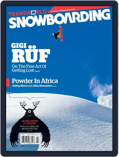 Transworld Snowboarding (Digital) January 6th, 2010 Issue Cover