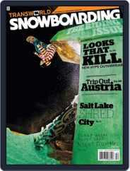 Transworld Snowboarding (Digital) Subscription October 24th, 2009 Issue
