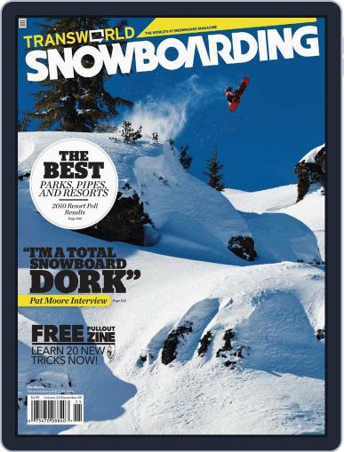 Transworld Snowboarding (Digital) September 26th, 2009 Issue Cover