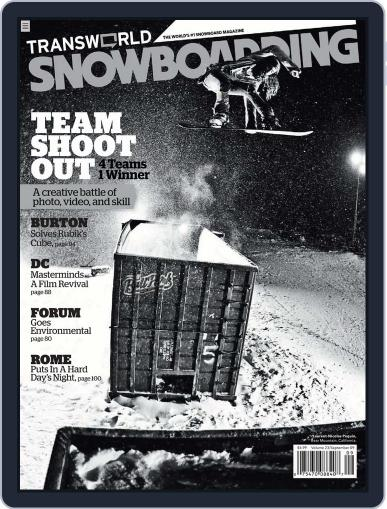 Transworld Snowboarding (Digital) July 27th, 2009 Issue Cover