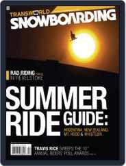 Transworld Snowboarding (Digital) Subscription February 21st, 2009 Issue
