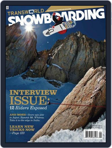 Transworld Snowboarding (Digital) November 22nd, 2008 Issue Cover